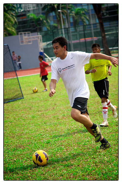 Special Olympics Unified Football 2012
