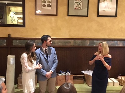 Lucy and Jesse's Rehearsal Dinner at Highland Springs Resorts 5-10-18