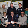 WHITECROSS BOWLING CLUB PRESENT CHEQUE TO K.B.R.T