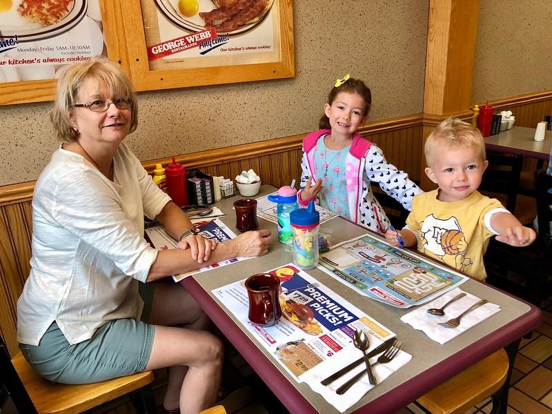 Breakfast with Grandma & Pa