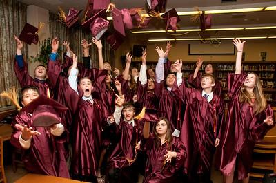 8th Grade Graduation - Candid Shots, May 31, 2011