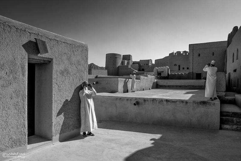 Oman - Bahla fort- B&W.jpg