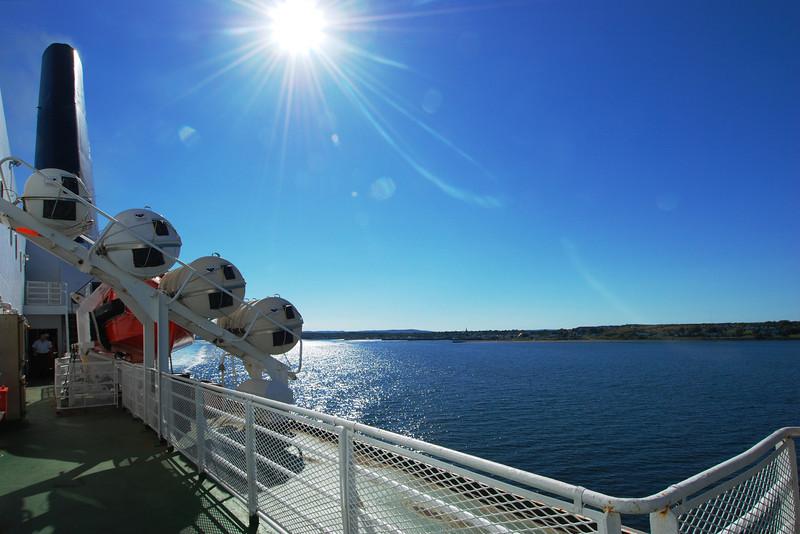 Traversier de North Sidney (Nouvelle-Écosse) à Port-aux-Basques (Terre-Neuve)
