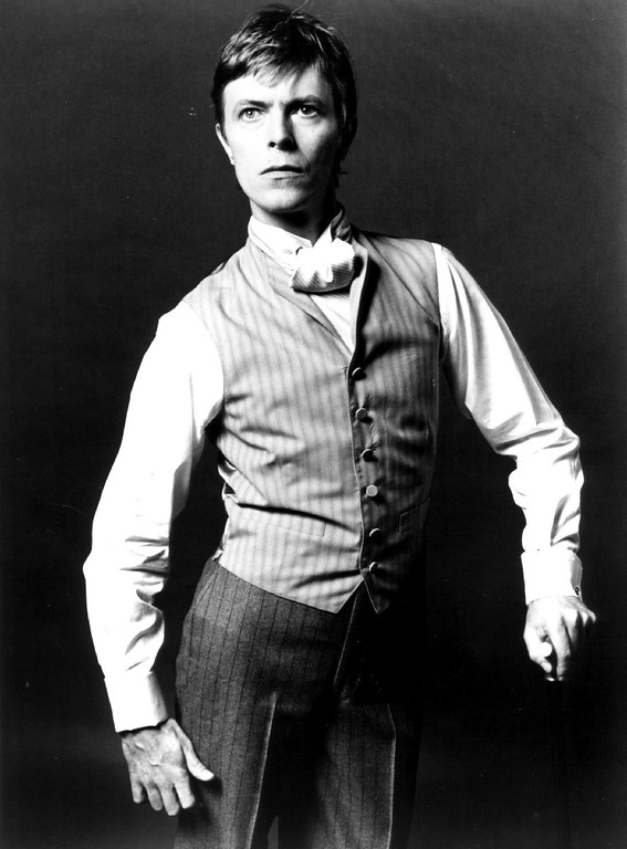 . JUL 30 1980, JAN 14 1982  Bowie, David - Ind - Actor  David Bowie in \'Elephant Man,\' performed in Denver July 29, 1980.