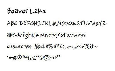 BeaverLakeFont-characters.jpg