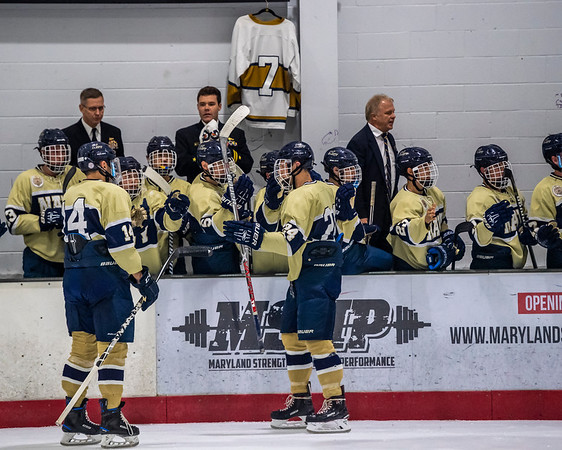 NAVY Men's Ice Hockey at University of Maryland (09/28/2018)