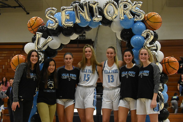 Senior Night (1/31/2020)