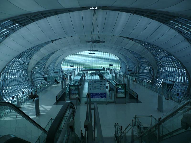Bangkok Airport, Thailand 2008