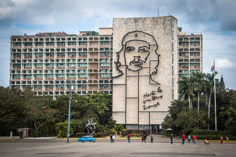 February 21 - Plaza de la Revolución_ Havana_ Cuba (Che Guevara).jpg