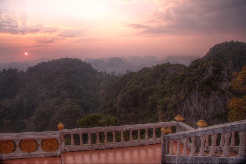 Awe-inspiring views from atop Tiger Temple (Wat Tham Seua) - Krabi