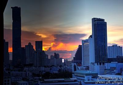 Thailand - 22nd Oct 2018 (River City - Sunset)
