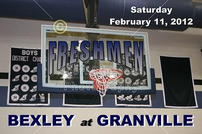 2012 Bexley at Granville (02-11-12) FRESHMEN