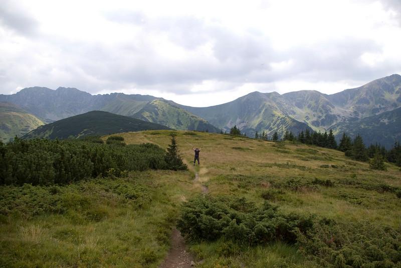 Highest peaks of the Lower Tatras
