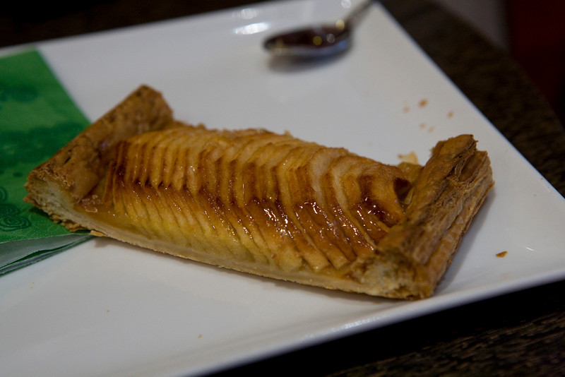 Apple turnover from a random cafe in Paris (near the Printemps department store)