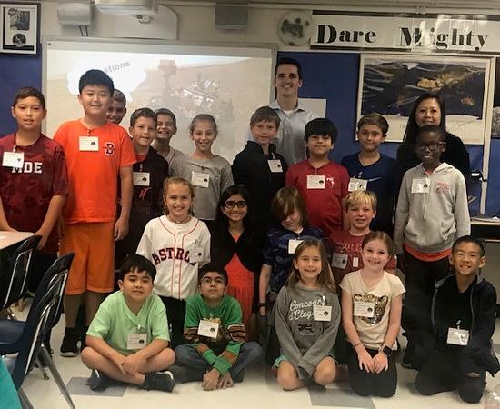 Space Week at Brentwood Elementary School