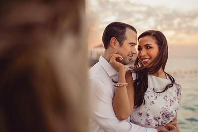 Eman & Mishal's Pre-Wedding Portraits