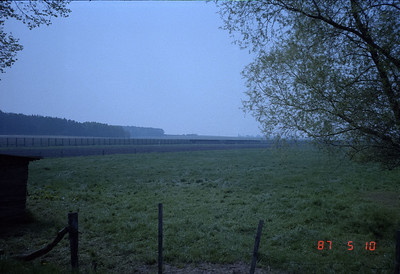 That is the fence beyond which is DDR territory.