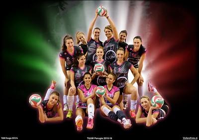 TUUM Perugia   Roster 2015-16