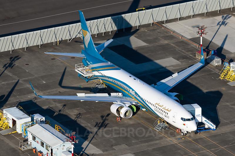 Oman Air 737-800 - A40-BK - BFI