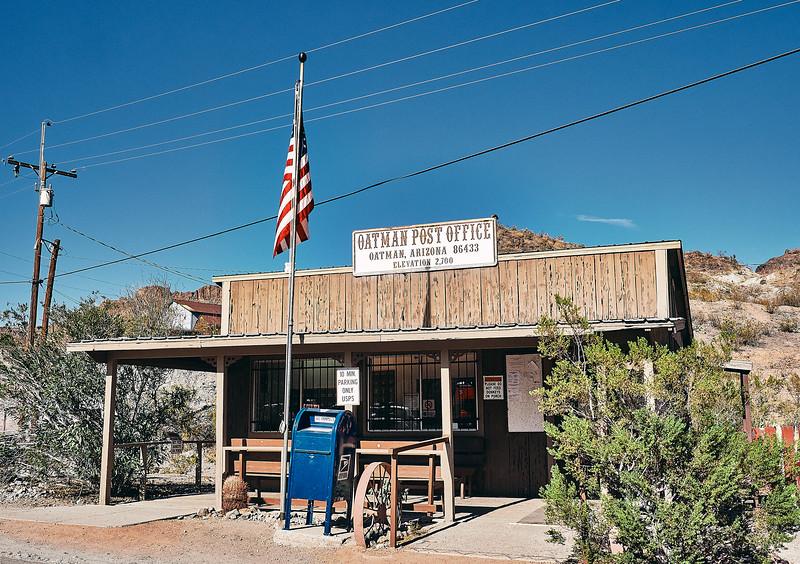 Route 66 - Oatman, Arizona