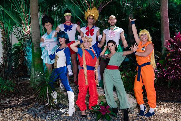 DBZ Sailormoon (Megacon2019)