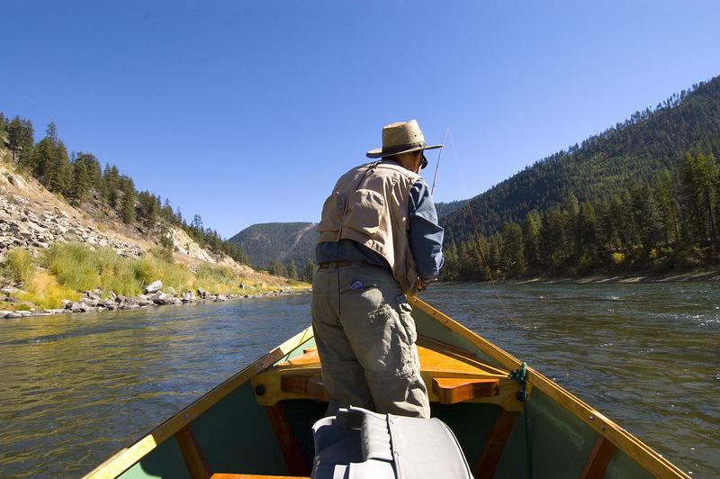 Flyfishing the Yellowstone 2005