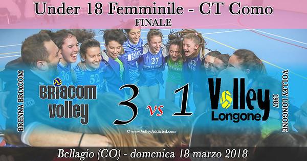 CO-U18f Finale: Brenna Briacom - Volley Longone
