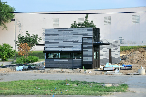 New Starbucks Made from Shipping Containers on 75th St. Shawnee, Ks