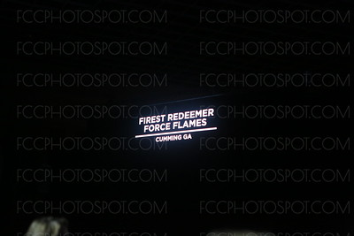 First Redeemer Force Flames