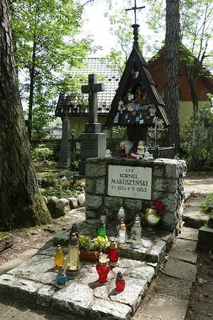 Pekowym Brzyzku Cemetery in Zakopane