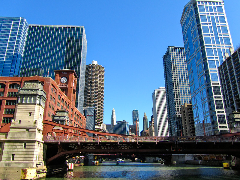 Chicago from the water