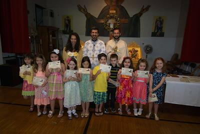 Church School Graduation - May 19, 2013