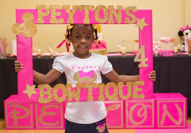 Peyton turns 4!!!
