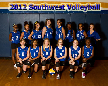 2012 Southwest Team Photos
