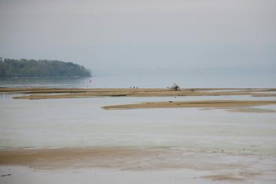 """Lieu-dit """" La Plage """" , sur le lac Léman"""
