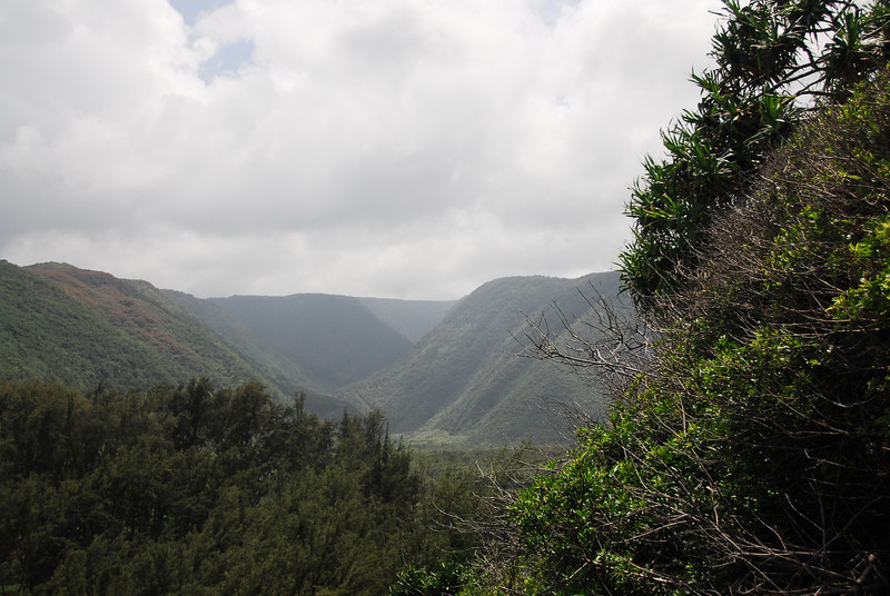 View of Pololu Valley, Hawaii