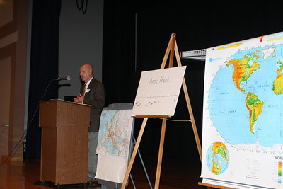 Holocaust Speaker, Tamaqua Area Middle School, Tamaqua (3-8-2012)