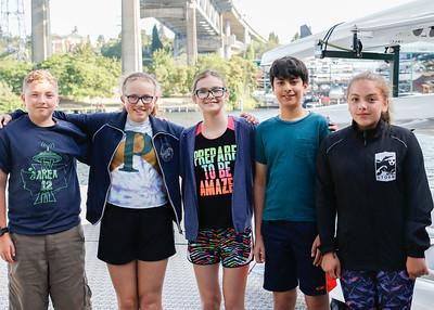 2017 Pocock Middle School  Rowing Camp