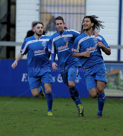 CHIPPENHAM TOWN V CIRENSTER TOWN MATCH PICTURES 17th Jan 2015