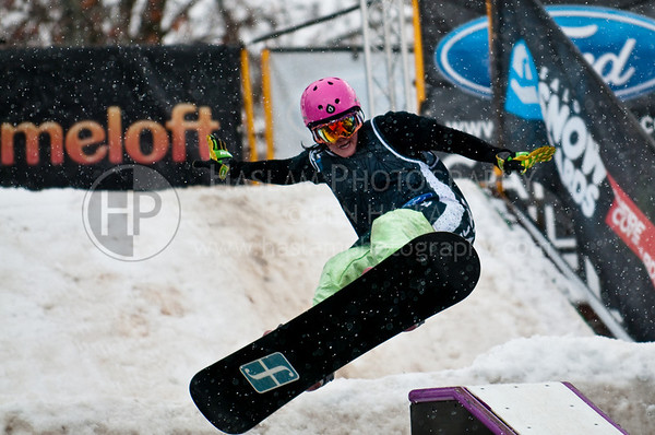 Campus Rail Jam - Wipe Outs