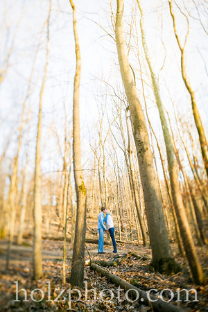 Corryn & Andrew Color Engagement Photos