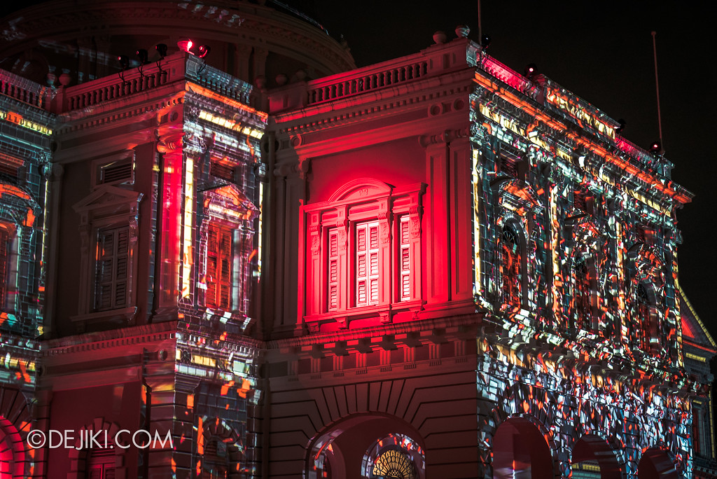 Singapore Night Festival 2017 / Convolutions by EZ3kiel (FR) red