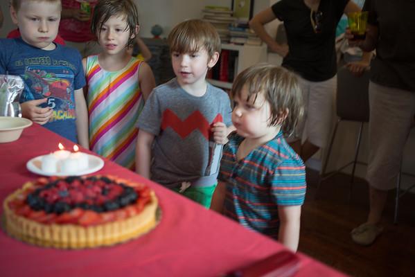 Otis's Third Birthday Party