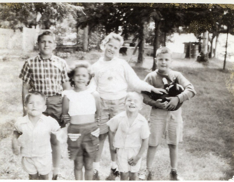 1957 John, Sue, Greg, Peggy, Buck & Chuck.jpg