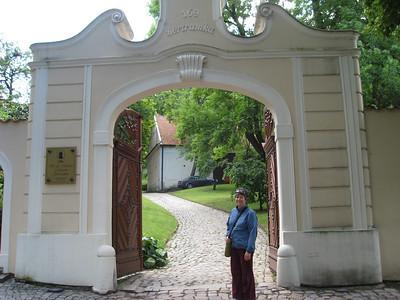 Prague: Villa Bertramka - Mozart Museum 2009-05-27