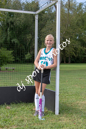2019-08-25 North Oldham Middle School Field Hockey