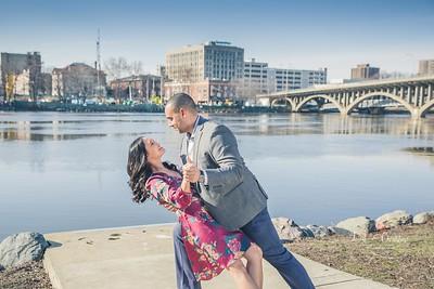 Rockford IL Engagement Photos   Rebecca & Matthew