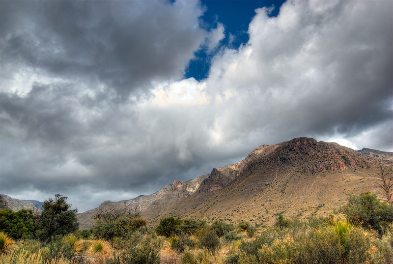 Guadalupe Mountains in Guadalupe Mountains National Park, Texas
