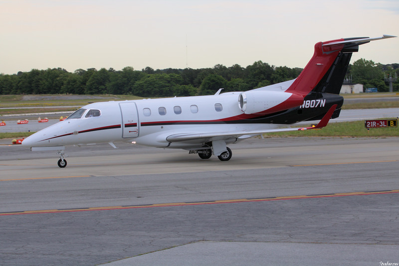Embraer 505 Phenom 300    c/n 50500504   N807N KPDK, GA, 05/08/2021, This work is licensed under a Creative Commons Attribution- NonCommercial 4.0 International License.