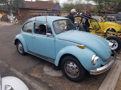 1971 Baby Blue VW